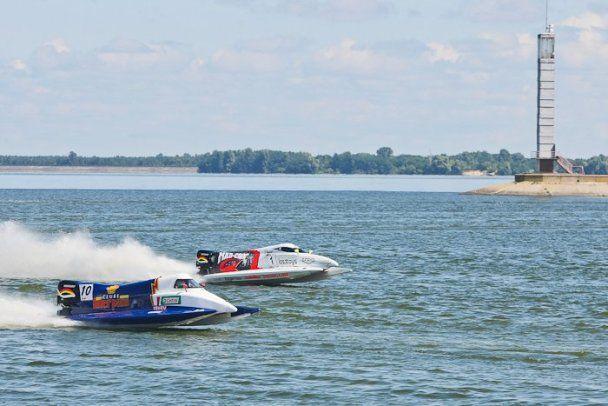 Траса Формули-1 на воді у Вишгороді готова до відкриття