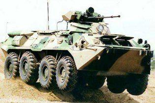 Під Харковом солдата тяжко поранили з кулемета БТР
