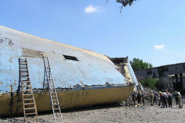 Аварию на шахте в Макеевке назвали уникальной для Европы
