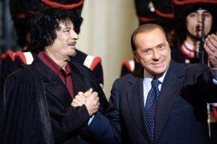 Берлусконі: Каддафі віддав наказ мене вбити
