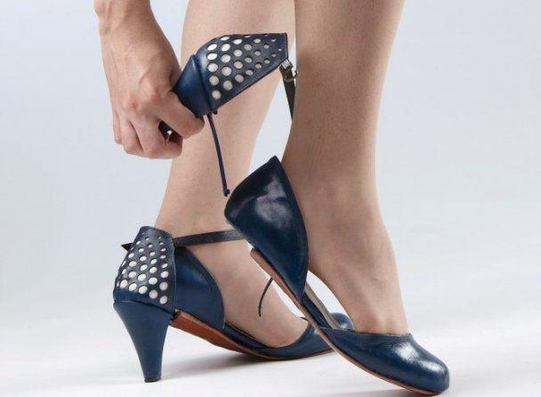 Створене універсальне змінне взуття - туфлі-трансформери