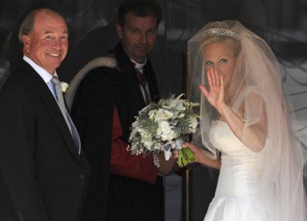 Онучка британської королеви запізнилась на власне весілля