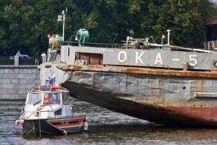 На Москві-річці зіткнулися два катери: є жертви