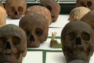 180 людських черепів вилучені у знахаря в перуанській столиці Лімі