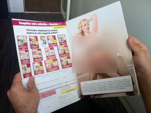 В Европе порнофотографии случайно попали в детский журнал