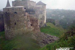 """""""Старую крепость"""" в Каменец-Подольском закрыли для туристов"""