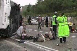 8 російських туристів постраждали внаслідок ДТП автобуса у Туреччинні