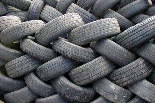 В Украине дороги будут делать из старых автомобильных шин