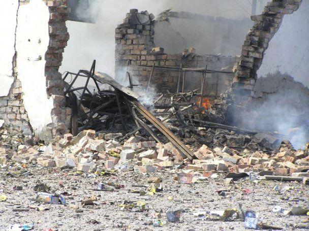 У передмісті Бішкека вибухнув склад піротехніки