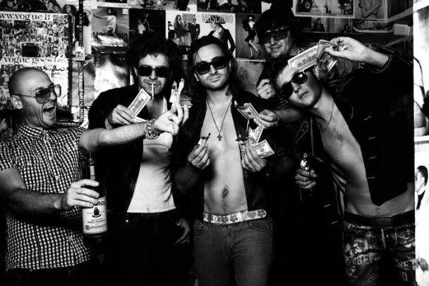 """Группа """"С.К.А.Й."""" перевоплотилась в брутальных рокеров"""