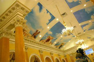 Одесская мэрия потратит 200 тысяч, чтобы убрать обои, которые не нравятся Костусеву