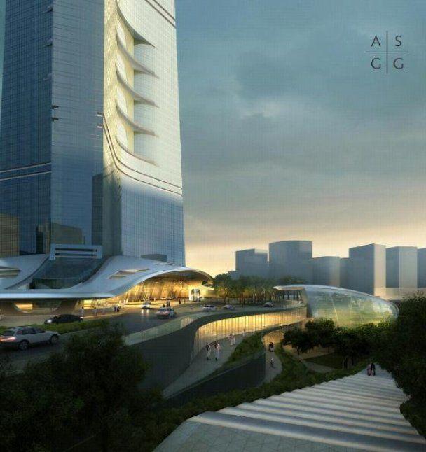 Презентован дизайн нового супер-небоскреба - самого высокого в мире
