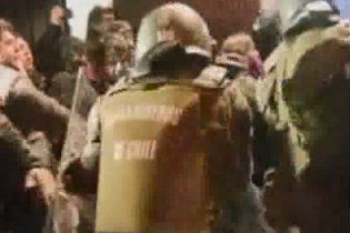У Чилі відбулися сутички між поліцією і демонстрантами