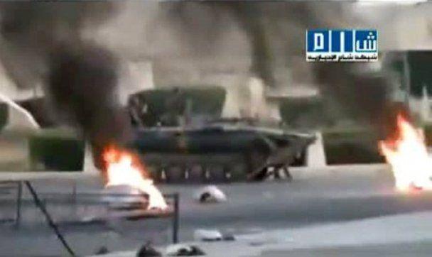 Корабли ВМС Сирии разбомбили оппозиционеров