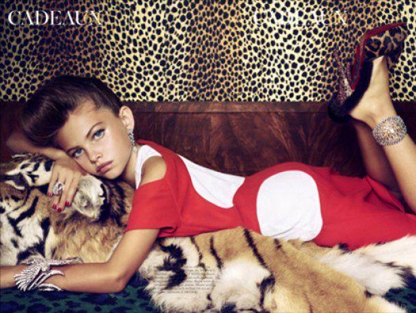 Vogue звинуватили у розбещенні малолітніх за сексуальні фото 10-річної дівчинки