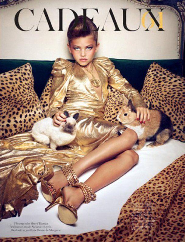 Vogue обвинили в совращении малолетних за сексуальные фото 10-летней девочки