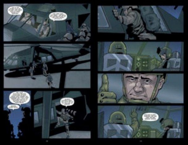 В США появились комиксы об убийстве бен Ладена