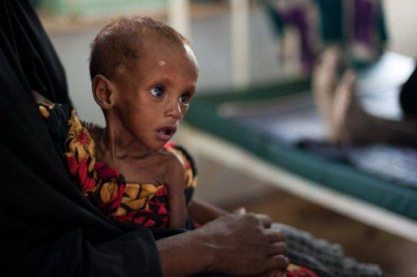 В Кении детей меняют на еду