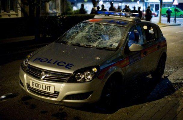 Лондон в огне: три ночи погромов