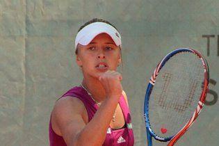Сборная Украины праздновала победу на чемпионате Европы по теннису
