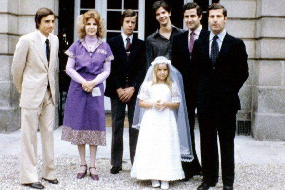 18-та герцогиня Альба з дітьми
