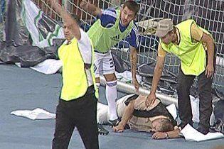 """Человек, избитый на матче """"Динамо"""" - """"Карпаты"""": я был стюардом"""