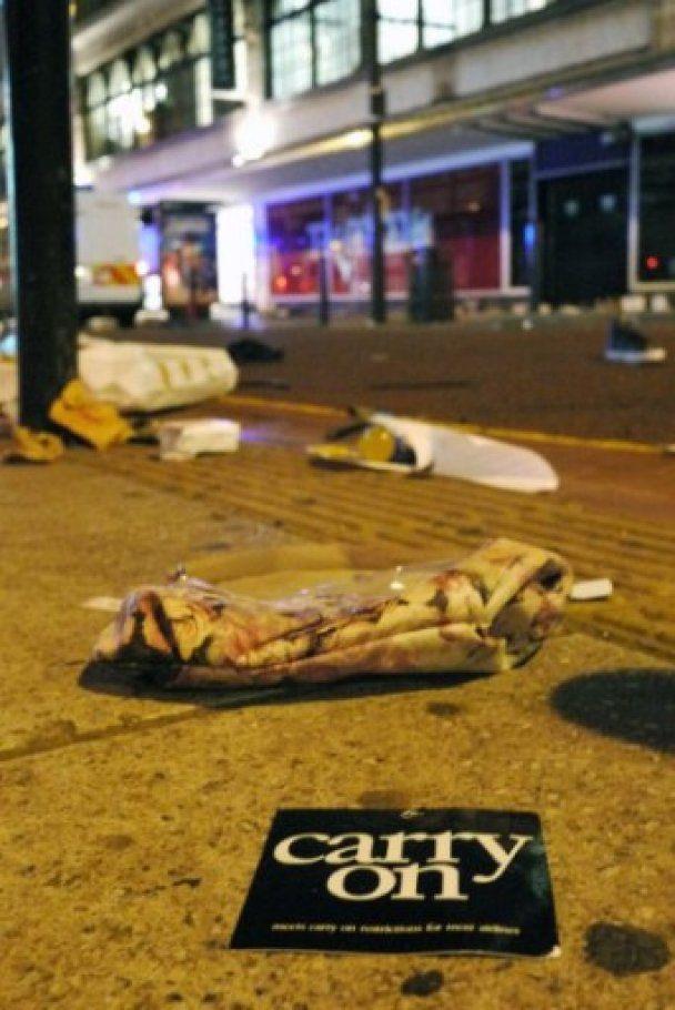 В Британии появилась первая жертва лондонских беспорядков
