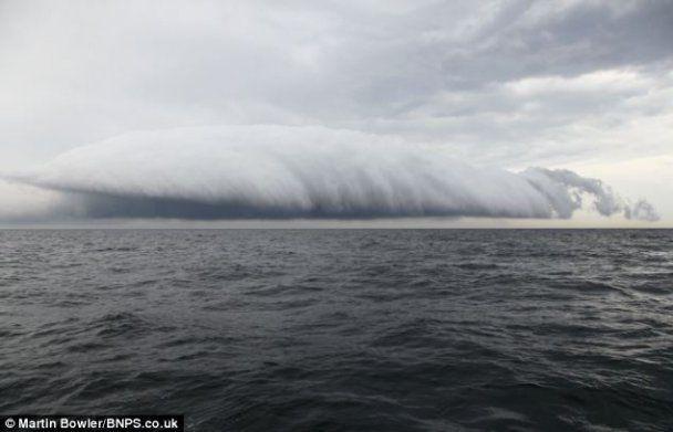 Хмара-сигара перелякала британських рибалок
