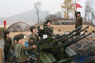 КНДР відкрила артилерійський вогонь біля південнокорейського острова Йонпхендо