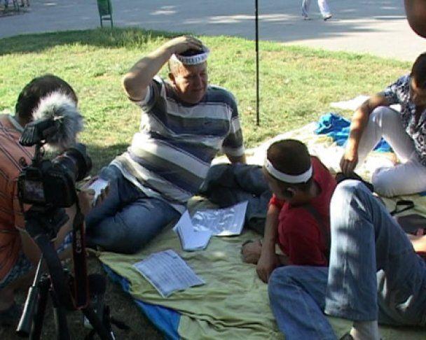 У Харкові звільнені тролейбусники оголосили безстрокове голодування