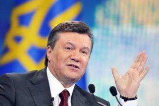 Янукович нагородив медаллю мера, втягнутого у корупційний скандал