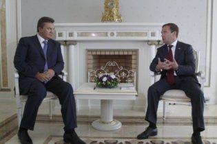 На встрече Януковича и Медведева газовый вопрос будет второстепенным