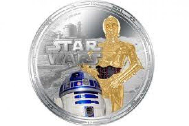 """Монеты с героями """"Звездных войн"""" стали платежной валютой"""