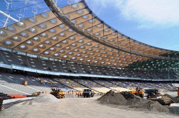 """На НСК """"Олімпійський"""" встановлено вже 20 тисяч сидінь"""
