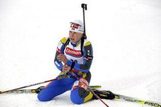 Українська біатлоністка дискваліфікована на один рік