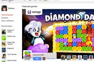 У соціальній мережі Google+ з'явилися ігри
