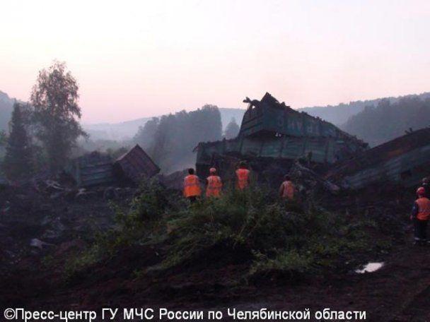 Под Челябинском столкнулись два поезда: есть жертвы