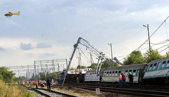 Аварія потяга у Польщі