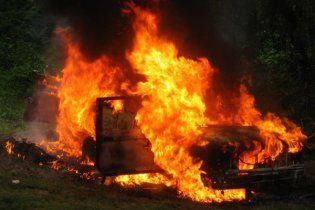 На Донеччині 7-річна дитина згоріла у авто