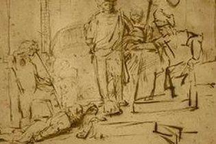 У США знайдений вкрадений малюнок голландського художника Рембрандта