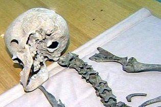 """На древнем кургане в России раскопали скелет """"человеко-барана"""""""
