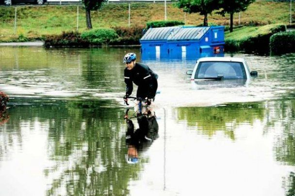Сильні зливи викликали повінь у Данії та Швеції