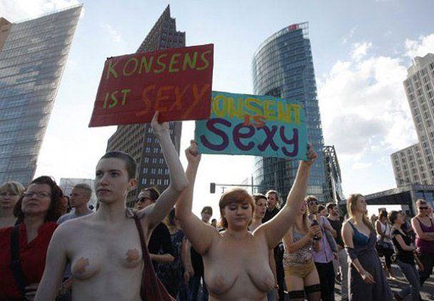 """В Берліні провели """"Марш повій"""""""
