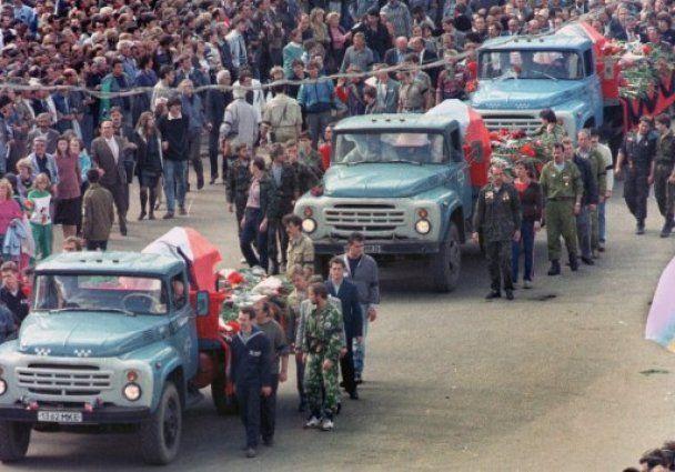 20-та річниця путчу ГКЧП і розвалу СРСР