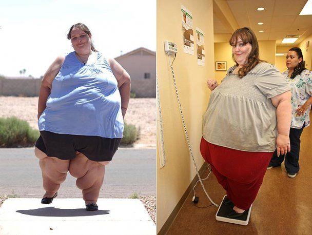 330-кілограмова американка мріє досягти ваги в одну тонну