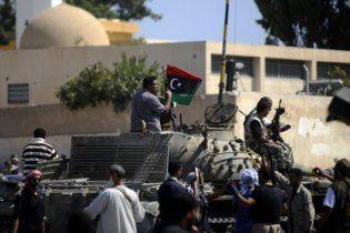 Лівійські повстанці захопили військову частину на околицях Тріполі