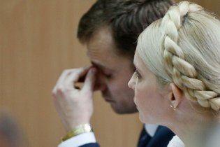 Суддя Кірєєв замість Тимошенко оголошує її свідчення