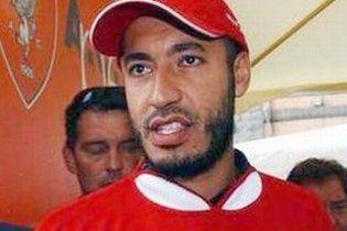 Син Каддафі попросив Інтерпол відмовитися від його розшуку