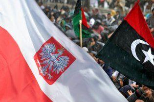 Польща привітала лівійських повстанців з перемогою