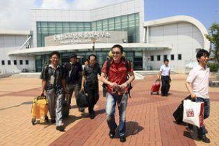 Власти КНДР выгнали всех южнокорейцев с курорта на границе двух стран